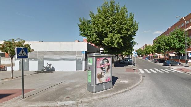 La intersección entre las calles Petra Kelly y Carmen Martín Gaite de Leganés donde ocurrió el suceso