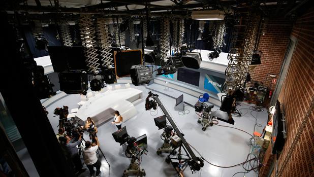 Imagen de archivo del interior de las instalaciones de la televisión valenciana