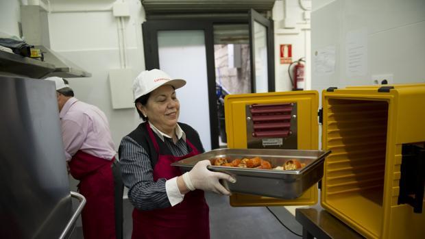 Banco de alimentos para familias con necesidades