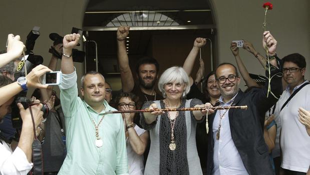 La alcaldesa de Badalona, Dolor Sabater