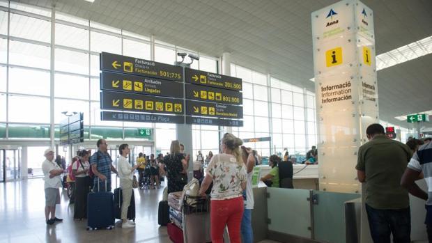 El aeropuerto de El Prat, el pasado verano