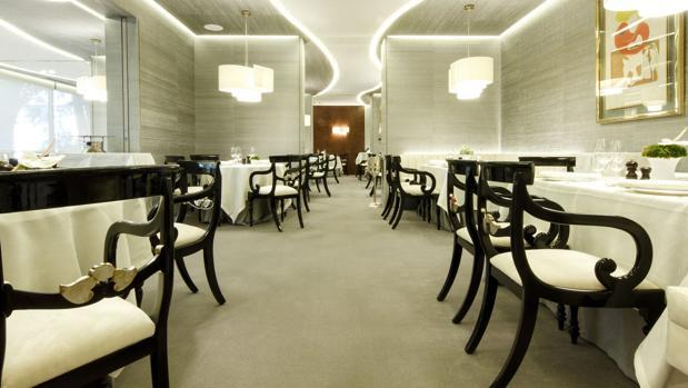 Sala renovada del restaurante Zalacaín
