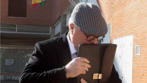 Fotografía de archivo del comisario Villarejo