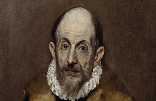 «Autorretrato«, de El Greco