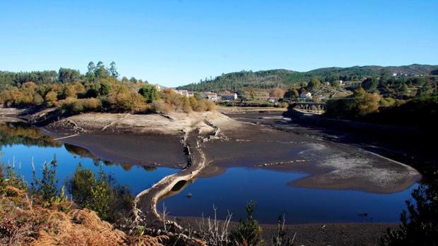 Imagen de la presa de Eiras, que surte a Vigo y su área metripolitana