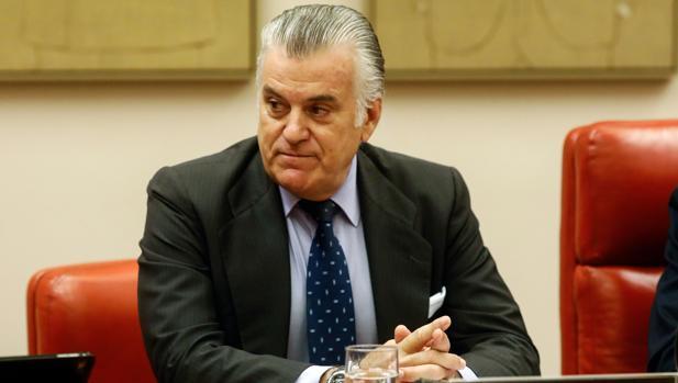 Luis Bárcenas, en una comparecencia en el Congreso de los Diputados