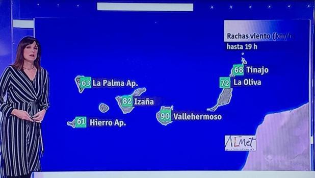 Un error en una TV de Canarias y que suele generar acusaciones de desprecio entre Gran Canaria y Tenerife