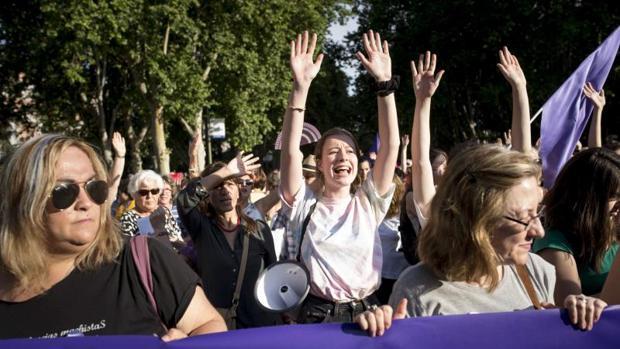 Imagen de archivo de una protesta feminista