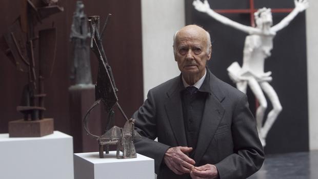 Venancio Blanco, en una imagen de 2014, ha fallecido a los 95 años
