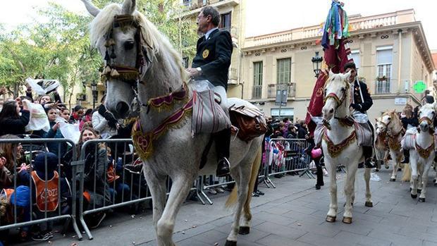Imagen de la fiesta de Sant Medir de Barcelona
