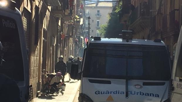 Una imagen del barrio del Raval de Barcelona