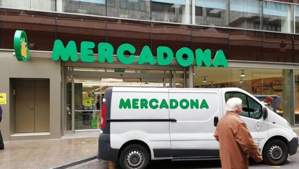 Imagen de un supermercado de Mercadona tomada en el centro de Valencia