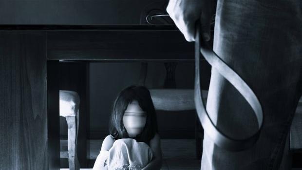 Imagen recreada de un caso de violencia machista