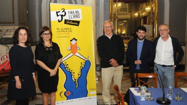 Imagen de la presentación de la Feria del Libro