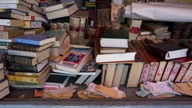 Libros en la Cuesta de Moyano