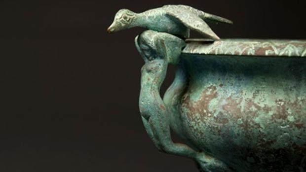 La exposición aúna el mundo de la antigüedad clásica con las invenciones de la Revolución Industrial