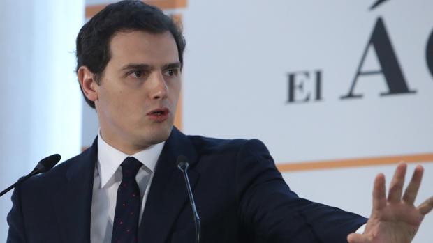 Rivera, líder de Ciudadanos