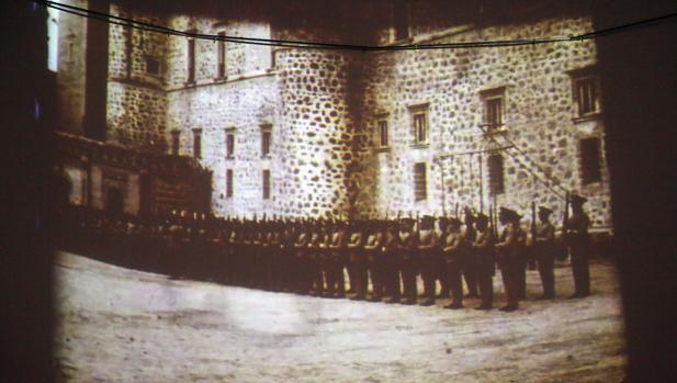 Una de las películas de los años 20, rodada en la Academia de Infantería
