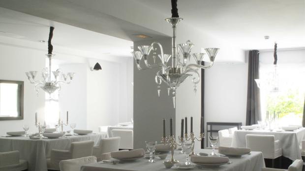 Imagen tomada en el Restaurante Gavara, situado en el hotel Ferrero. (Bocairent) Valencia