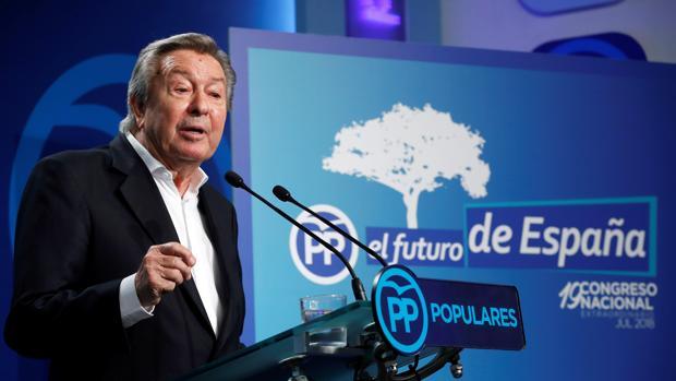 El presidente de la Comisión Organizadora, Luis de Grandes