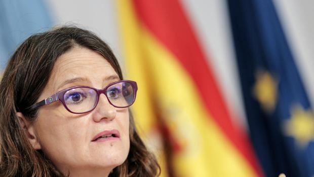 Imagen de la vicepresidenta de la Generalitat, Mónica Oltra