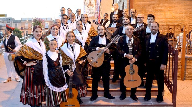 Participantes en el Flok Nacional celebrado en Daimiel