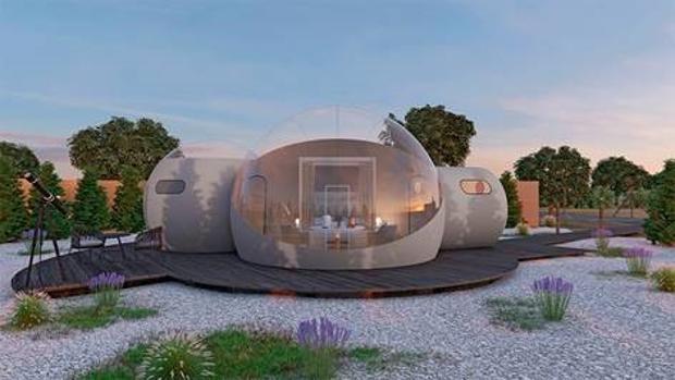 Las habitaciones -de 30 metros cuadrados- cuentan con todo tipo de comodidades