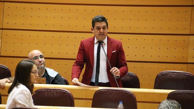 Imagen del senador de Compromís Carles Mulet