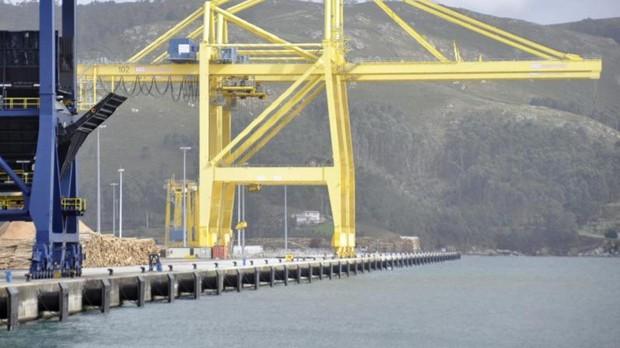 Imagen del puerto exterior de Ferrol