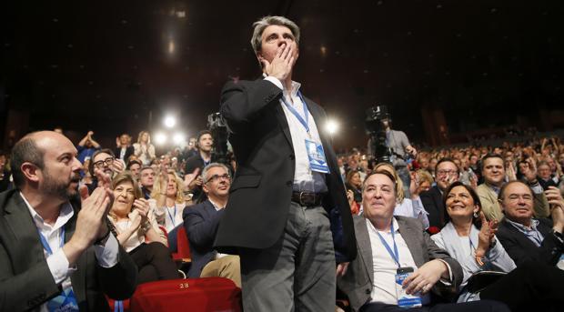 Ángel Garrido, en el congreso regional del PP de Madrid celebrado en marzo de 2017