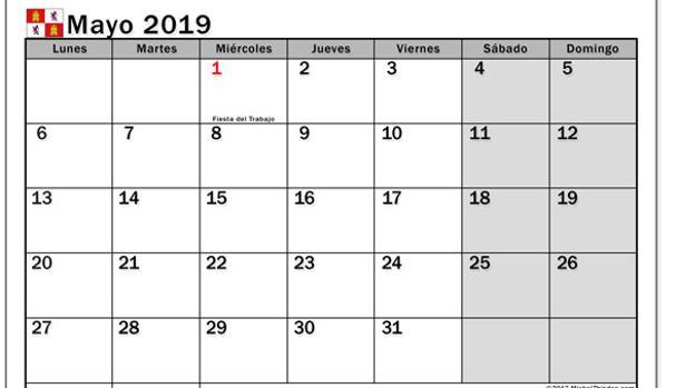 Calendario Diciembre 2018 Con Festivos.Los Lunes 7 De Enero Y 9 De Diciembre Seran Festivos En