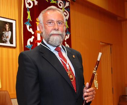 Jaime Ramos, en su toma de posesión como alcalde de Talavera de la Reina