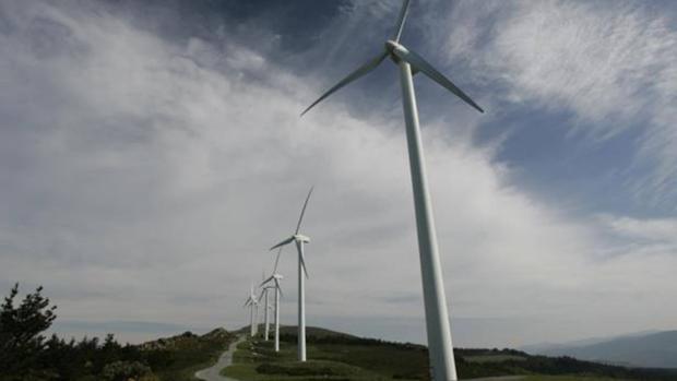 Imagen de parque eólico