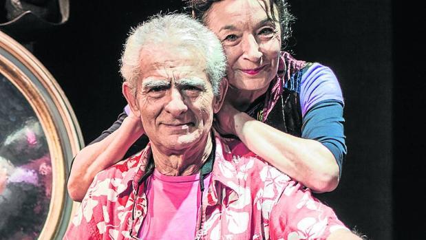 Juan Margallo y Petra Martínez, matrimonio de actores que serán premiados