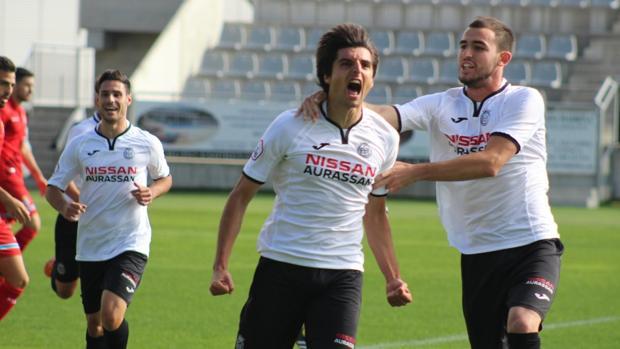 Jairo Cárcaba marcó su sexto gol de la temporada