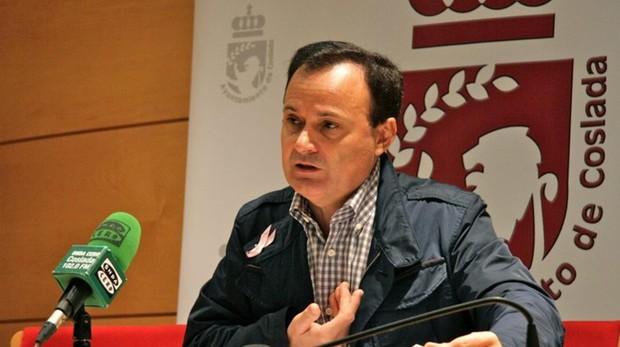El alcalde Coslada, Ángel Viveros