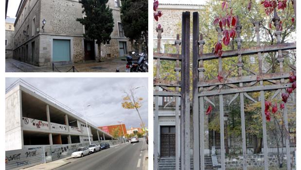 El Hospitalito del Rey, la Casa de la Juventud o la Biblioteca del Miradero, proyectos olvidados en Toledo
