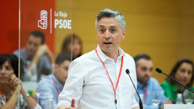 Francisco Ocón, secretario general del PSOE La Rioja