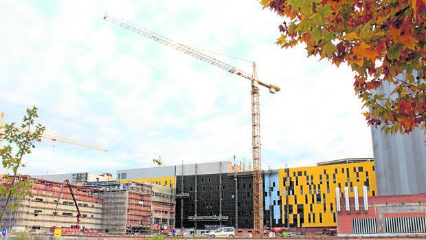 Estado actual de las obras del nuevo hospital de Toledo