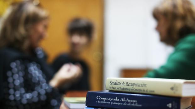 Imagen de archivo de un encuentro de Al-Anon de Santiago