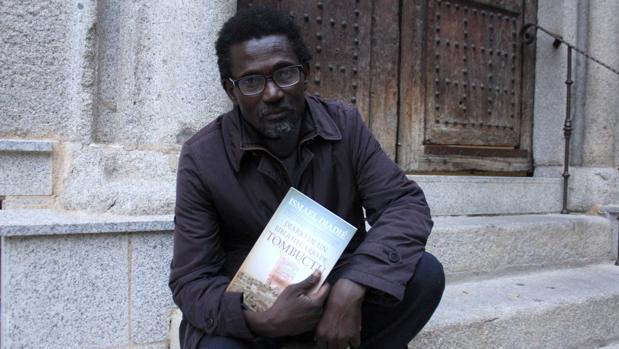 Ismael Diadié, en Toledo, donde presentó su libro «Diario de un bibliotecario en Tombuctú»