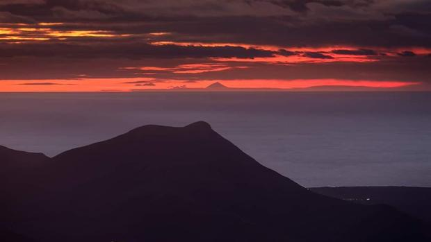 El Teide desde Lanzarote