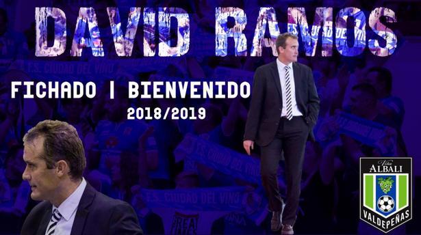 David Ramos entrenó al Puertollano FS mientras este estuvo en Primera División