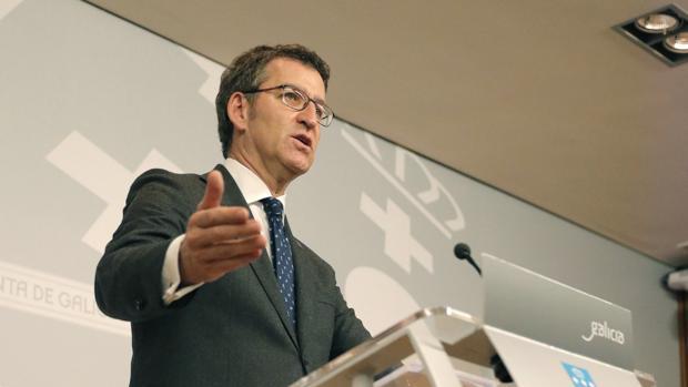 El presidente del Gobierno gallego, tras el Consello de la Xunta