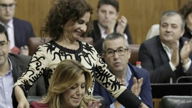 María Jesús Montero, ministra de Hacienda, es una de las mejores colocadas