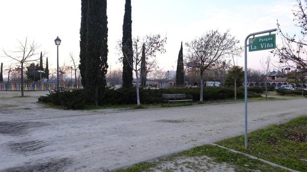 Parque de la Viña, donde tuvo lugar la agresión sexual