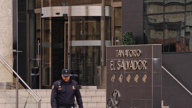 La Policía registró el jueves las sedes del tanatorio El Salvador, en Valladolid