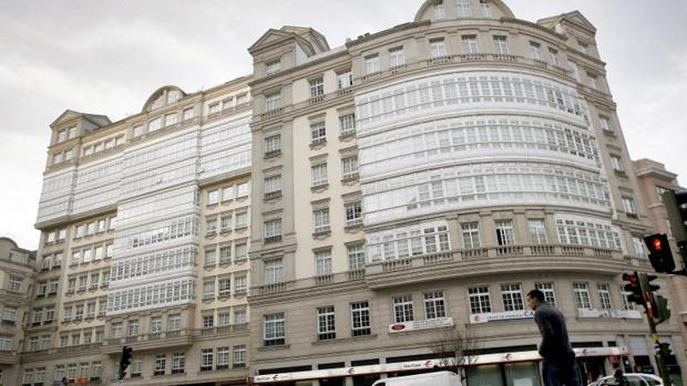 Edficio Fenosa en La Coruña, que se mantendrá tal cual después del acuerdo de mediación
