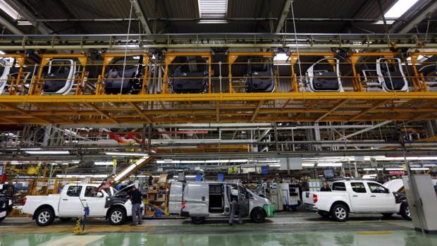 Una imagen de la planta de Nissan en Barcelona