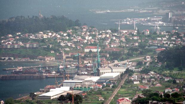 Vista panorámica de Vigo